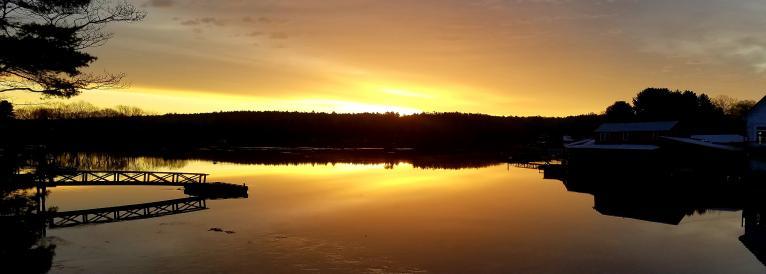 East Side of Barter's Island Sunrise