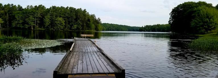 Knickerbocker Lake Access Road Swimming Area